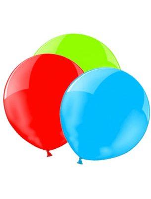 onbedrukte ballonnen